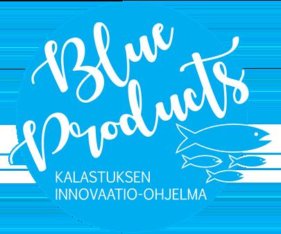 Logo: Blue Products - innovationsprogram för fiske