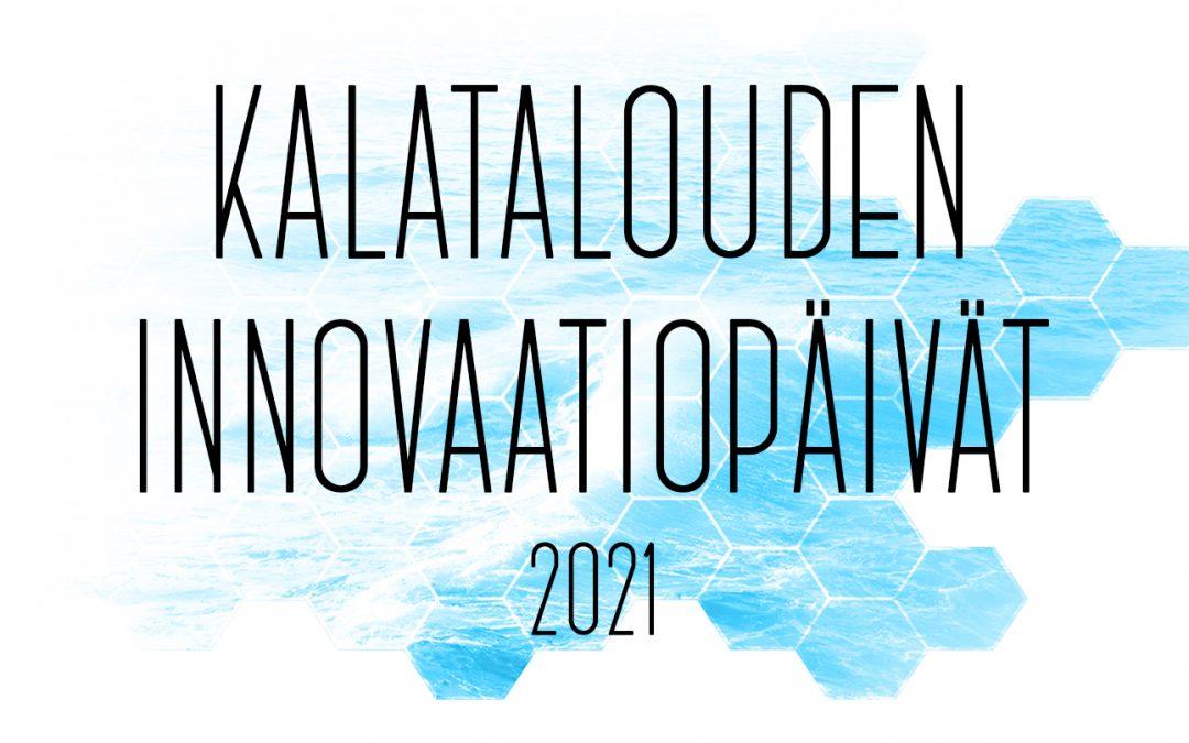 Kalatalouden innovaatiopäivät järjestetään 4.-5.11.2021 Vantaalla