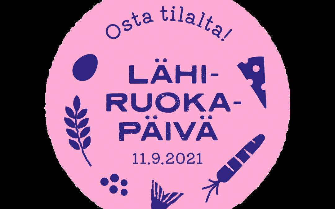 Lähiruokapäivä järjestetään 11.9.2021 — myös kalatalouden yrittäjät tervetulleita mukaan!
